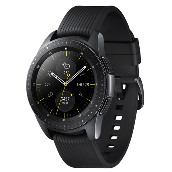 Часы Samsung GalaxyWatch (42mm) (Midnight Black/Onyx Black) SM-R810