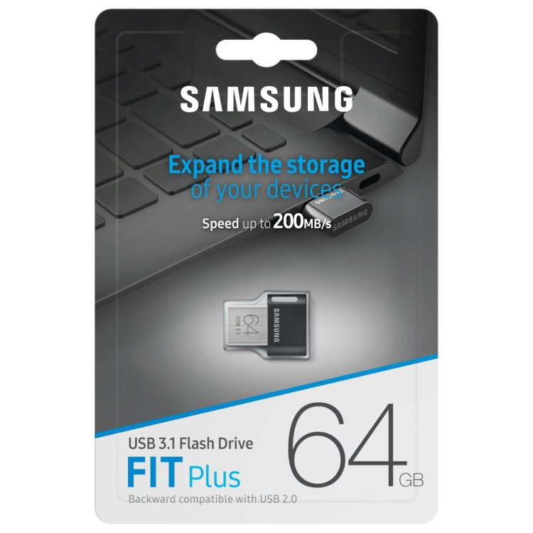 Флешка Samsung USB 3.1 Flash Drive FIT Plus 64GB