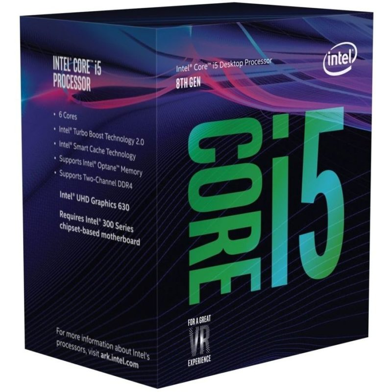 Процессор Intel Core i5 8500 Soc-1151v2 (3GHz, Intel UHD Graphics 630) Box