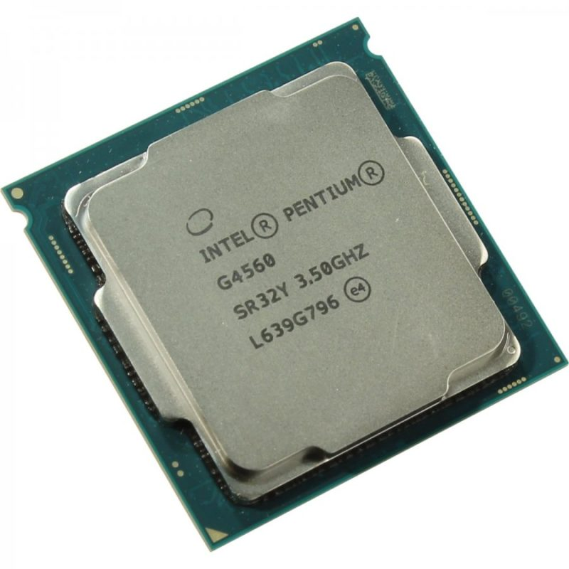 Процессор Intel Pentium Dual-Core G4560 Soc-1151 (3.5GHz, Intel HD Graphics 610) Box