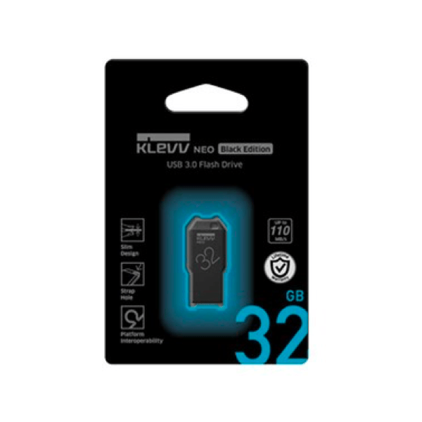 Флешка KLEVV NEO Black edition 32GB