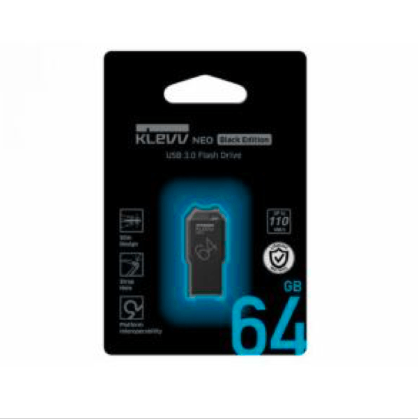Флешка KLEVV NEO Black edition 64GB