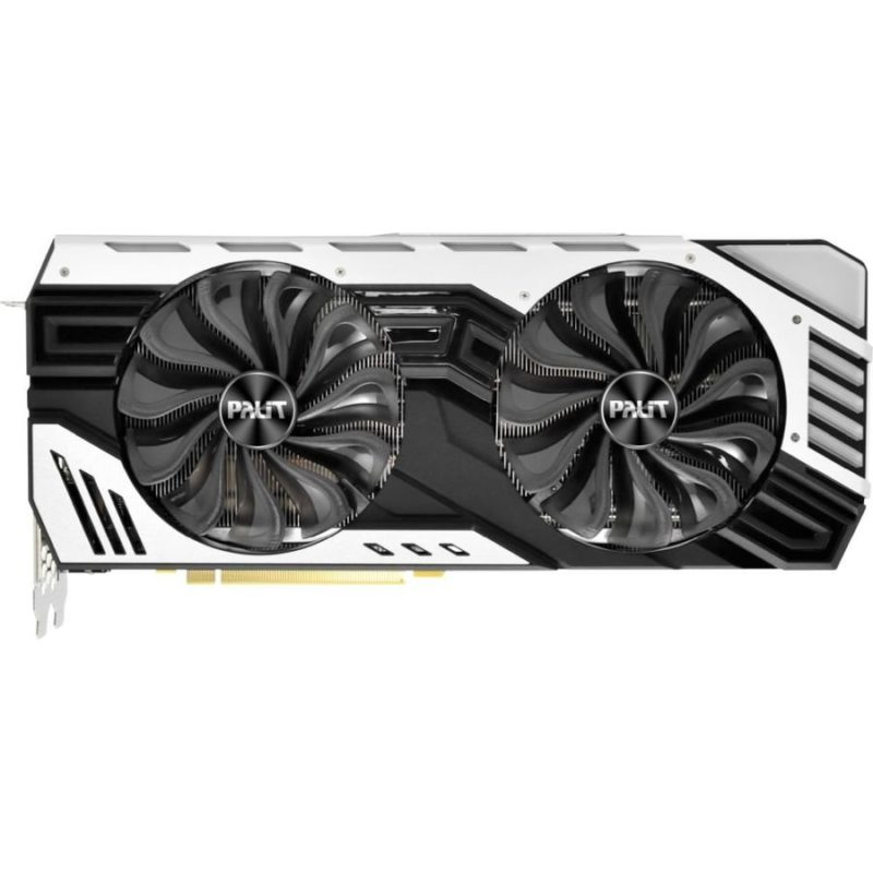 Видеокарта Palit GeForce RTX 2080 JETSTREAM 8 GB JETSTREAM 256bit GDDR6 USB-C, HDMI, 3xDP Ret