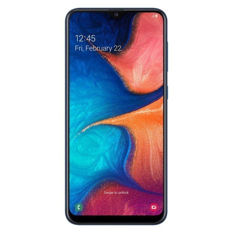 Смартфон Samsung Galaxy A20 (2019) SM-A205F 32Gb Blue