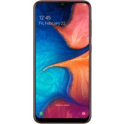 Смартфон Samsung Galaxy A20 (2019) SM-A205F 32Gb Red